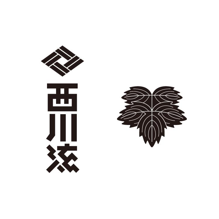 日本舞踊 西川流さんのロゴ